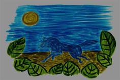 Running Wolf X by on DeviantArt Running Wolf, Digital Art
