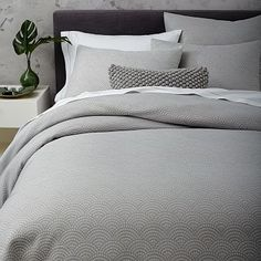 West Elm offers modern furniture and home decor featuring inspiring designs and colors. Create a stylish space with home accessories from West Elm. Home Bedroom, Master Bedroom, Bedroom Decor, Bedroom Inspo, Bedroom Inspiration, Bedroom Ideas, Bedrooms, Cheap Bed Sheets, Luxury Bedding Collections