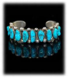 Sleeping Beauty turquoise, love this style