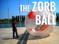 Meet the all mighty Zorb Ball. Also known as a human hamster ball. Learn about the zorb ball on: http://www.zorbingtime.com/zorb-ball-human-hamster-ball/