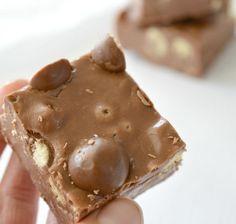 Three Ingredient Maltesers Fudge Recipe