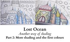 Lost Ocean - Another way of Shading - Part 2: More shading and the first...