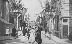 DELFT v.a. 1900 Delft, Gravure, Street View, Painting, Art, Paint, Draw