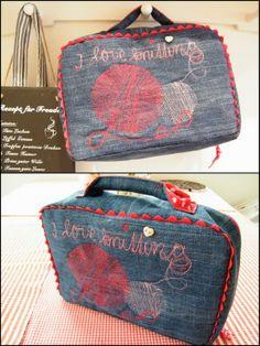 Köfferchen nach HandmadeKultur