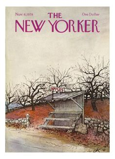 The New Yorker Cover - November 6, 1978