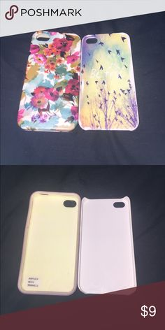 iPhone 4/4s cases!! Both are brand new!! One is from Amazon the other is from Aeropostale price is for both Aeropostale Accessories Phone Cases