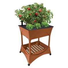 Easy Pickers Raised Garden Grow Box with Stand-2335 - The Home Depot