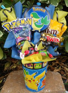 Pokemon Kids Candy Party Favors by LynnsCandyCreations on Etsy, $4.99