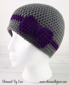 Free Crochet Pattern: Wrapped With Love Hat – NB to Adult | Charmed By Ewe