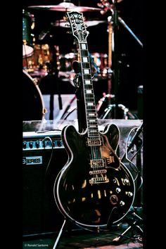 BB King's infamous Lucille:)