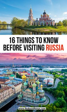 Are you traveling to Russia? Here you will find 16 things to know before traveling to Russia to aid you in planning and having the best trip to Russia ever! Europe Travel Guide, Europe Destinations, Asia Travel, Travel Guides, Europe Packing, Backpacking Europe, Packing Tips, Visit Russia, Best Places To Travel