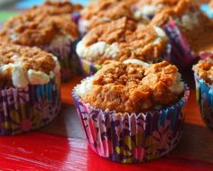 Low Calorie Pumpkin Cream Cupcakes