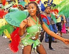 Carnival is a huge Caribbean street party every October in Limon, Costa Rica