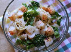 Alaska King Crab, Spinach, & Broccoli Alfredo