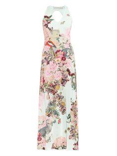 Mary Katrantzou Sterne Lobelia Sky-print dress