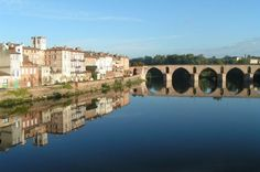 Montauban in the south of France - a great place to be an au pair.