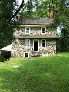 c. 1725 John Chads House The John Chads' House is the home of the ferryman and farmer for whom Chadds Ford was named.