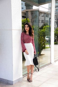 look do dia, saia midi, saia iorane, look saia branca