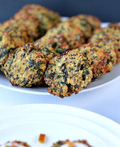 spinach quinoa patty