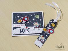 Marcapáginas + tarjeta + niño + el mejor reto del mundo + molt craft