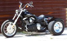 pics of wide glide trikes | Harley Davidson Dyna to Trike conversion information
