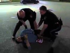 Anonymous Police Brutality Against Homeless Guy