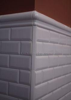 White On Edges Tips For Dark Grout Craftsman Bungalow Renovation, Beveled Subway  Tiles, Pewter Grout   Kitchen Redo   Pinterest   Beveled Subway Tile, ...