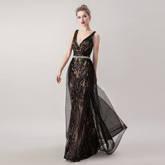 prom dresses for teens formal,Black Sequined Prom Dress Princess,Mermaid Prom Dress with Overskirt,P Black Evening Dresses, Black Prom Dresses, Mermaid Evening Dresses, Formal Dresses, Princess Prom Dresses, Prom Dresses For Teens, Cheap Bridal Dresses, Dinner Gowns, Backless Maxi Dresses