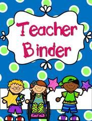 Get it Together! Teacher Binder Giveaway!!!  - Get it Together! Be super organized with this editable Teacher Binder. There are so-o-o many forms and dividers to choose from! Complete Sub Packet. 100 pages!!! Adorable graphics. Ink friendly. Editable version for personalizing. Enter now and win it FREE!!.  A GIVEAWAY promotion for Teacher Binder from LeahPopinski-SumMathFun on TeachersNotebook.com (ends on 4-19-2015)