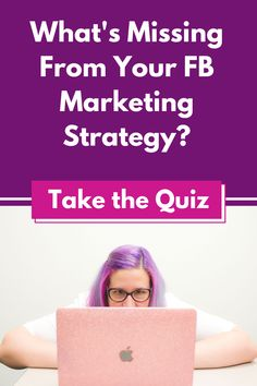 Let me help you figure out why your Facebook marketing is not working as well as you'd like at marketing-quiz.com