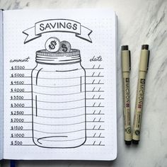 10 Bullet Journal Money Trackers To Manage Your Finances - : LOVE the. - 10 Bullet Journal Money Trackers To Manage Your Finances – : LOVE these! 10 Bullet J - Bullet Journal Tracker, Bullet Journal School, Bullet Journal 2019, Bullet Journal Notebook, Bullet Journal Spread, Bullet Journal Inspiration, Goal Journal, Bullet Journal How To Start A Simple, Bullet Journal Layout Ideas