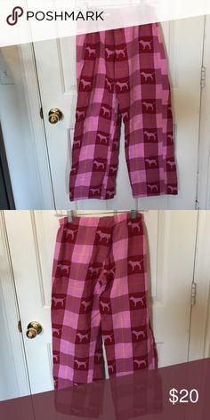 Victoria's Secret Pink Pajama Pants Victoria's Secret Pink plaid pajama pants! Super cute and very comfortable. They are a thicker material, and are super warm for the winter. Bundle and save :) PINK Victoria's Secret Intimates & Sleepwear Pajamas