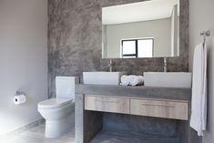 73 on Sleigh - Crontech Consulting Cupboard Storage, Storage Drawers, Concrete Bathtub, Built In Vanity, Bathroom Cupboards, Building Contractors, Bathroom Interior Design, Rustic Industrial, West Coast