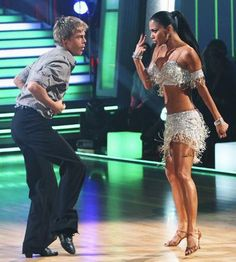 Dancing with the Stars. Derrick Hough and ? Partner.