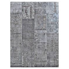 "I pinned this Overdyed 5'3"" x 7'3"" Turkish Patchwork Rug I from the Rug Tent Sale event at Joss and Main!"