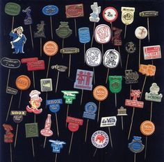 Do you remember? Collect advertising pins - Do you remember?