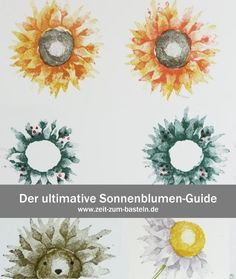 Der ultimative Sonnenblumen-Guide - was alles möglich ist - (Stampin Up, Herbstanfang) - www.zeit-zum-basteln.de