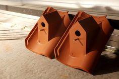 Bird houses for tiled roof