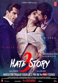 Hotness Unleashed: Watch Out the Sizzling Hot Trailer of Hate Story 3 Bollywood Movie Songs, Latest Bollywood Movies, Bollywood Posters, Bollywood Cinema, Music Download, Download Video, Hindi Movies, Telugu Movies
