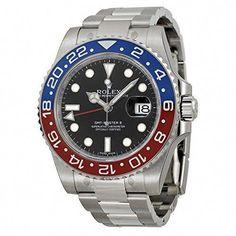 56002033525 nice Rolex GMT-Master II White Gold Pepsi Red   Blue Ceramic Unworn 116719  Watch 2016 just added.