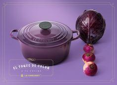 El placer de cocinar con un toque de color... Eso es Le Creuset México. —   Producto disponible en nuestra tienda en  Premium Outlets Punta Norte. ¡Te esperamos!