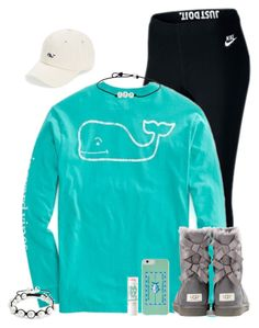 """""""Shanna's contest"""" by savanahe on Polyvore featuring NIKE, Bling Jewelry, UGG Australia, Vineyard Vines, Southern Tide and preppyshannas"""