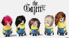 the GazettE minions