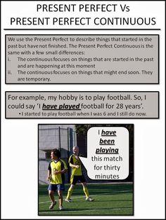 PRESENT PERFECT vs PRESENT PERFECT CONTINUOUS 1-2