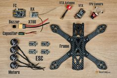 How to build a Racing Drone (FPV Mini Quad) Beginner Guide - Oscar Liang Electronics Basics, Electronics Projects, Computer Projects, Folding Drone, Drone Technology, Medical Technology, Energy Technology, Technology Gadgets, Drone With Hd Camera