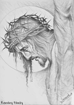 Artwork of Jesus Christ Our Savior Jesus Tattoo, Catholic Art, Religious Art, Jesus Drawings, Jesus Christ Drawing, Christus Tattoo, Tattoo Crane, Design Tattoo, Chicano Art