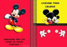 Mais um Kit de Aniversário, agora é o Mickey Mouse, se tiverem alguma dúvida sobre as medidas de cada personalizado, as...