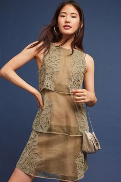 Slide View: 1: Estera Silk Dress