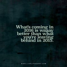 whats coming in 2016