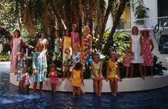 Lilly Pulitzer 1964 by Slim Aarons.